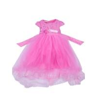 "Платья для девочек ""Incredible pink""Цена за 1 шт.840,00руб., Цена за уп-ку 3360руб."