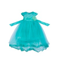 "Платья для девочек ""Incredible green""Цена за 1 шт.840,00руб., Цена за уп-ку 3360руб."