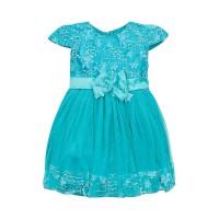 "Платья для девочек ""Shell green""Цена за 1 шт.740,00руб., Цена за уп-ку 2960руб."