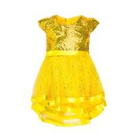 "Платья для девочек ""Dresses yellow""Цена за 1 шт.545,00руб., Цена за уп-ку 2180руб."