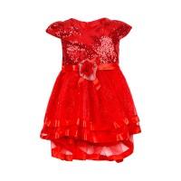 "Платья для девочек ""Dresses red""Цена за 1 шт.545,00руб., Цена за уп-ку 2180руб."