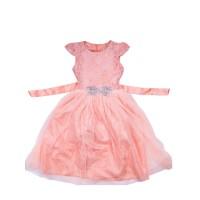 "Платья для девочек ""Pearl coral""Цена за 1 шт.530,00руб., Цена за уп-ку 2120руб."