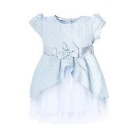"""Платья для девочек """"Butterfly blue""""Цена за 1 шт.515,00руб., Цена за уп-ку 2060руб."""