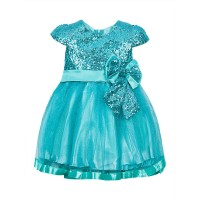 "Платья для девочек ""Baby doll green""Цена за 1 шт.570,00руб., Цена за уп-ку 2280руб."