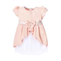 """Платья для девочек """"Butterfly peach""""Цена за 1 шт.515,00руб., Цена за уп-ку 2060руб."""